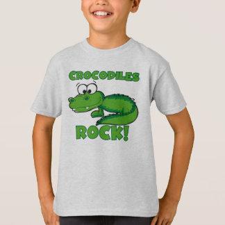 ワニの石 Tシャツ