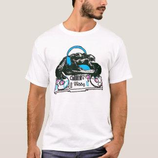 ワニDJ Tシャツ