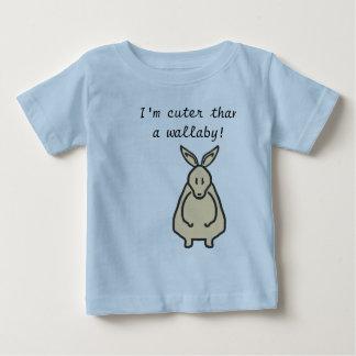 ワラビーのデザインよりかわいい ベビーTシャツ