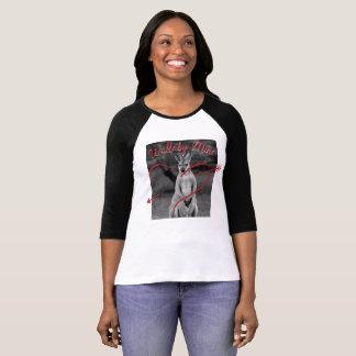 ワラビー鉱山のハートのバレンタインデーのオーストラリアのワイシャツ Tシャツ