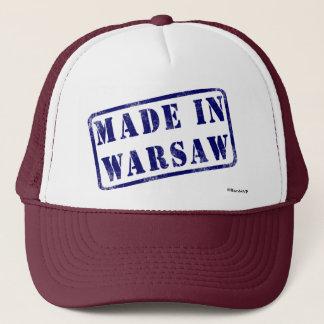 ワルシャワで作られる キャップ