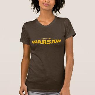 ワルシャワで作られる Tシャツ
