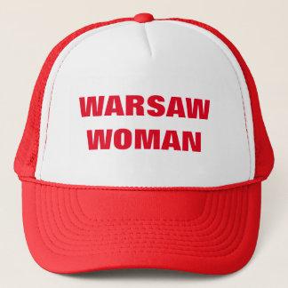 ワルシャワの女性 キャップ