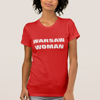ワルシャワの女性 Tシャツ