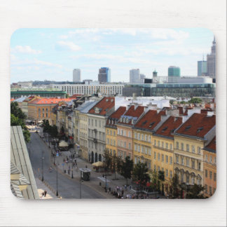 ワルシャワの眺め マウスパッド