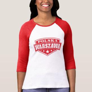 ワルシャワポルスカポーランドの紋章 Tシャツ