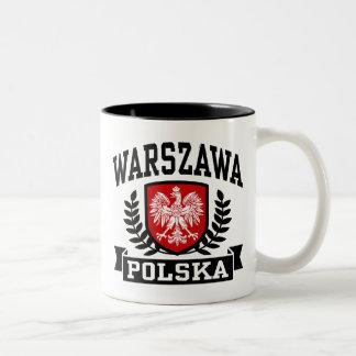 ワルシャワポルスカ ツートーンマグカップ