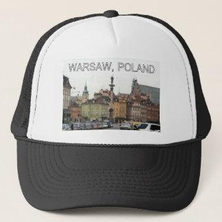 ワルシャワポーランドの凝視MIASTOの古い町 キャップ