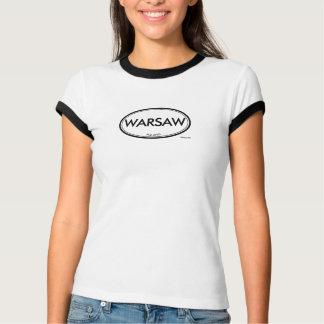 ワルシャワ、ポーランド Tシャツ