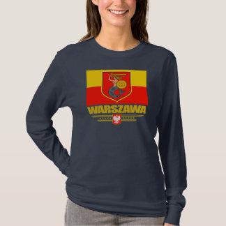 ワルシャワ(ワルシャワ)ポーランド Tシャツ