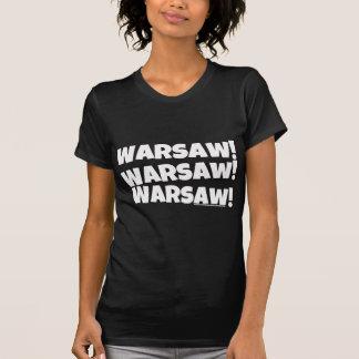 ワルシャワ! 白い Tシャツ