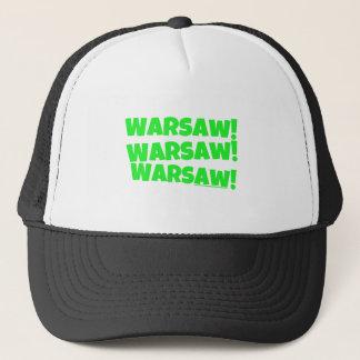 ワルシャワ! 緑 キャップ
