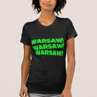 ワルシャワ! 緑 Tシャツ