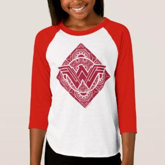 ワンダーウーマンのアマゾンの記号 Tシャツ