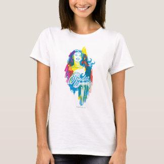 ワンダーウーマンのカラフル1 Tシャツ