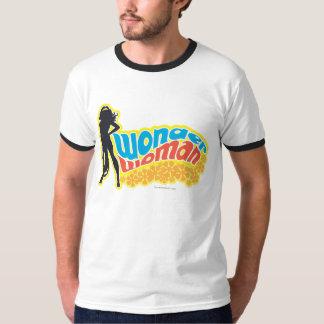 ワンダーウーマンのシルエット Tシャツ
