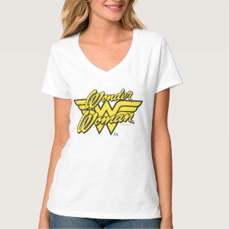 ワンダーウーマンのロゴ1 Tシャツ