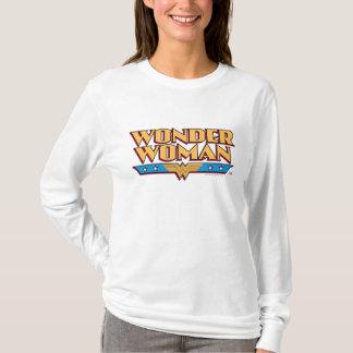 ワンダーウーマンのロゴ2 Tシャツ