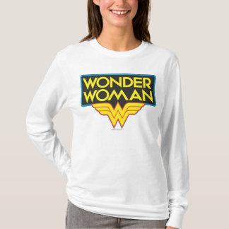 ワンダーウーマンのロゴ3 Tシャツ