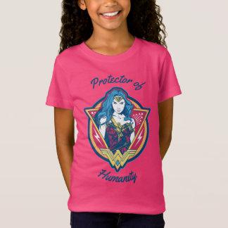 ワンダーウーマンの三色のグラフィック Tシャツ