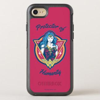 ワンダーウーマンの三色の写実的なテンプレート オッターボックスシンメトリーiPhone 8/7 ケース