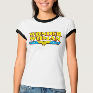 ワンダーウーマンの名前およびロゴ Tシャツ