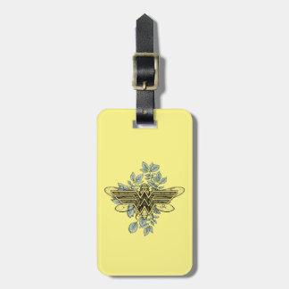 ワンダーウーマンの女王バチのロゴ ラゲッジタグ