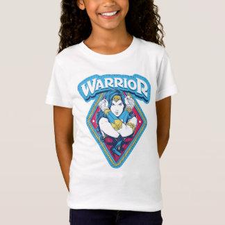 ワンダーウーマンの戦士のグラフィック Tシャツ