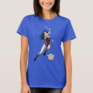 ワンダーウーマンの振動剣 Tシャツ
