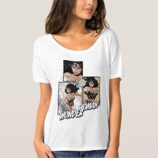 ワンダーウーマンの新しい52漫画の芸術のグラフィック Tシャツ
