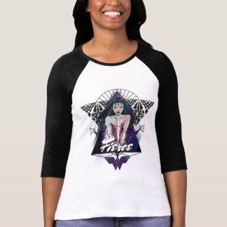 ワンダーウーマンの種族の三角形 Tシャツ
