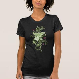 ワンダーウーマンの緑の渦巻のロゴ Tシャツ