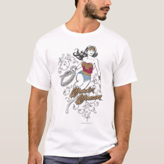 ワンダーウーマンの華麗さ Tシャツ
