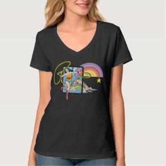 ワンダーウーマンの虹 Tシャツ