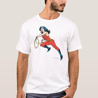 ワンダーウーマンの赤の用品類 Tシャツ