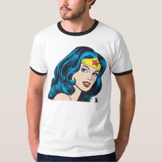 ワンダーウーマンの顔 Tシャツ