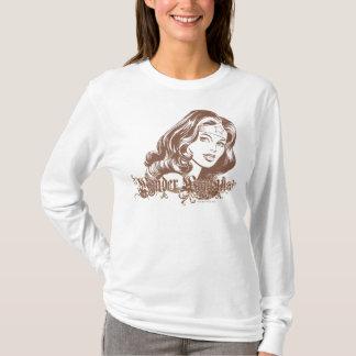 ワンダーウーマンブラウン Tシャツ