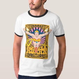 ワンダーウーマンポスター Tシャツ