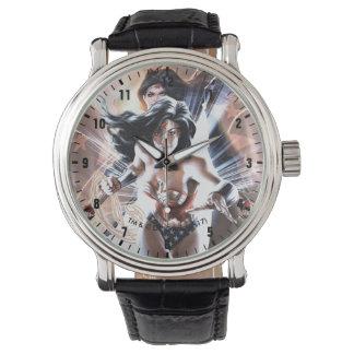 ワンダーウーマン喜劇的なカバー#609変形 腕時計