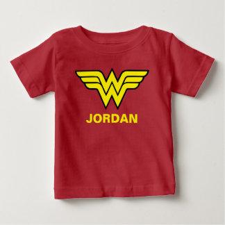 ワンダーウーマン|のクラシックなロゴ ベビーTシャツ
