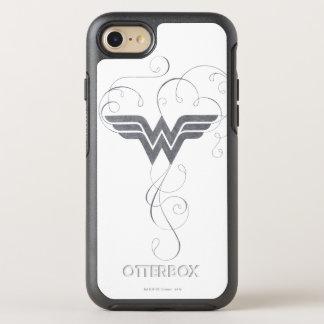ワンダーウーマン|の美しいの至福のロゴ オッターボックスシンメトリーiPhone 8/7 ケース