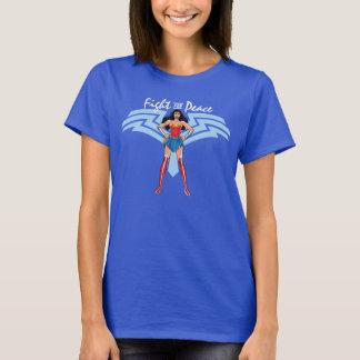 ワンダーウーマン-平和のための戦い Tシャツ