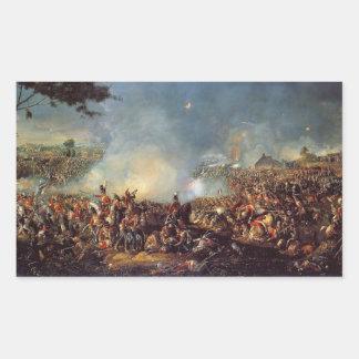 ワーテルローの戦い 長方形シール