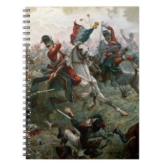 ワーテルローの戦い、1815年6月18日1898年(色l ノートブック