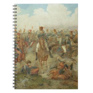 ワーテルローの戦い、1815年6月18日(w/c papで ノートブック