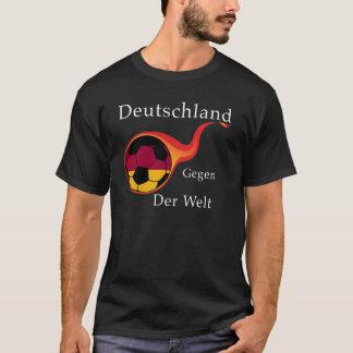 ワールドカップ-ドイツ対。 世界 Tシャツ