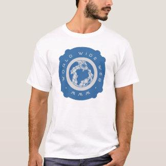 ワールド・ワイド・ウェブのWWWのTシャツ Tシャツ
