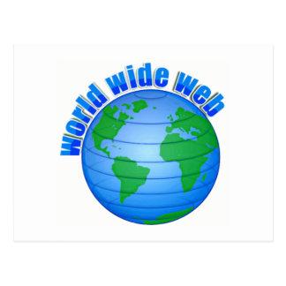 ワールド・ワイド・ウェブ ポストカード