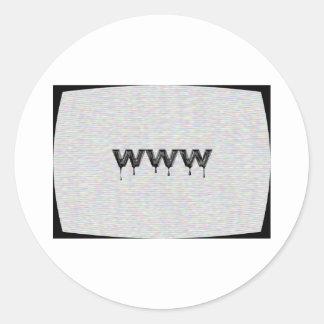 ワールド・ワイド・ウェブ ラウンドシール