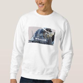 ワーレンNorthrup a17の平らで名前入りなスエットシャツ スウェットシャツ